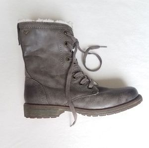 ROXY combat style boots
